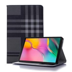 Plaid textuur horizontale Flip lederen case voor Galaxy tab een 8 (2019) P200/P205  met houder & card slots & portemonnee (grijs)