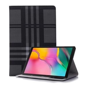 Plaid textuur horizontale Flip lederen case voor Galaxy tab S5e 10 5 T720/T725  met houder & card slots & portemonnee (grijs)