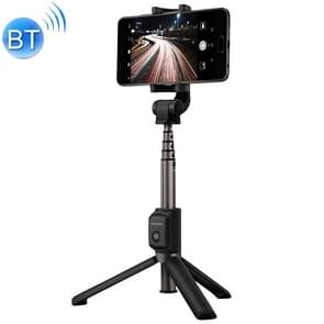 Huawei One-piece Retractable Wireless Bluetooth Selfie Stick with Magnetic Tripod, Mobile Phone Holder Expansion Size: 56-85mm (Black)