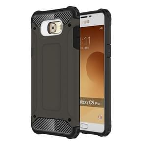 Voor Galaxy C9 Pro harde Armor TPU + PC combinatie Case(Coffee)