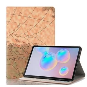 Voor Galaxy tab S6 T860/T865 kaart textuur horizontale Flip lederen draagtas met houder & kaartsleuven & portemonnee  willekeurige textuur levering