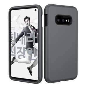 Solid Color TPU + PC Protevtive Case for Galaxy S10 E (Grey)
