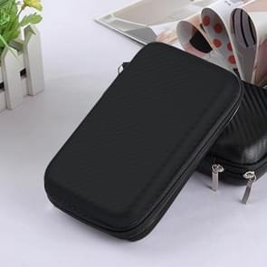 2.5 inch Hard Disk Storage Bag Earphone bag Multi-function Storage Bag, Bag Size: 3 inch (Black)