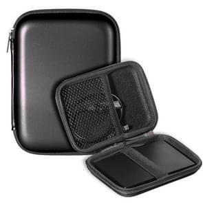2.5 inch Hard Disk Storage Bag Earphone bag Multi-function Storage Bag, Bag Size: 2.5 inch (Black)