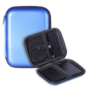 2.5 inch Hard Disk Storage Bag Earphone bag Multi-function Storage Bag, Bag Size: 2.5 inch (Blue)