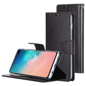 MERCURY GOOSPERY SONATA DIARY Horizontal Flip Leather Case for Galaxy S10+, with Holder & Card Slots & Wallet (Black)