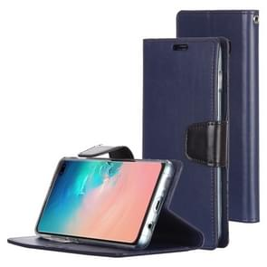 MERCURY GOOSPERY SONATA DIARY Horizontal Flip Leather Case for Galaxy S10+, with Holder & Card Slots & Wallet (Blue)