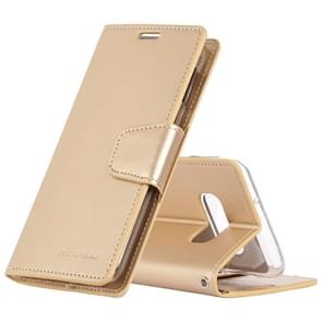 MERCURY GOOSPERY SONATA DIARY Horizontal Flip Leather Case for Galaxy S10 Lite, with Holder & Card Slots & Wallet (Gold)