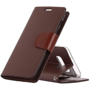 MERCURY GOOSPERY SONATA DIARY Horizontal Flip Leather Case for Galaxy S10 Lite, with Holder & Card Slots & Wallet (Brown)