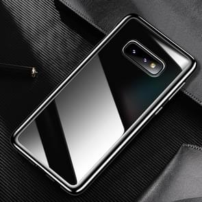 USAMS US-BH487 Electroplating TPU Protective Case for Galaxy S10 E (Black)