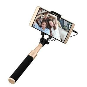 Original Huawei Live Broadcast Selfie Stick Monopod Extendable Handheld Holder with Wire Control(Black + Gold), For iPhone, Samsung, HTC, LG, Sony, Huawei, Lenovo, Xiaomi and other Smartphones