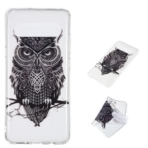 Owl Pattern Highly Transparent TPU Protective Case for Galaxy S10 5G