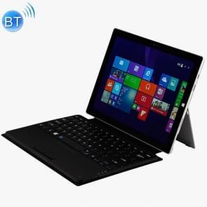 WSP328 Magnetic Charging Bluetooth V3.0 Keyboard + Microfiber Leather Case for Microsoft Surface Pro3 / Pro4 / Pro2017(Black)