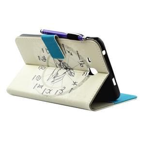 Samsung Galaxy Tab A 7.0 inch / T280 horizontaal Twaalf sterrenbeelden patroon PU leren Flip Hoesje met houder  slaap / ontwaak functie en opbergruimte voor pen  pinpassen & geld