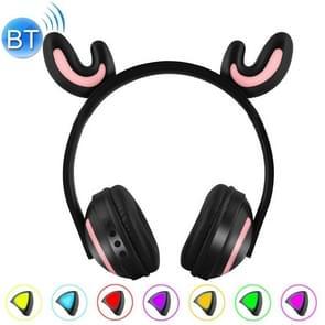 Gloeiende herten Ear Stereo Bluetooth V4.2 + EDR hoofdtelefoon Gaming Headset met LED-verlichting  voor iPhone  Galaxy  Huawei  Xiaomi  LG  HTC en andere Smart Phones