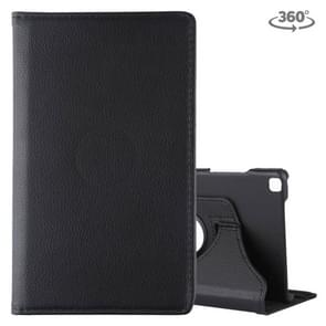 Litchi Texture Rotating ClassicBusiness Horizontal Flip Leather Case for Galaxy Tab A 8.0 T290 / T295 (2019), with Holder (Black)