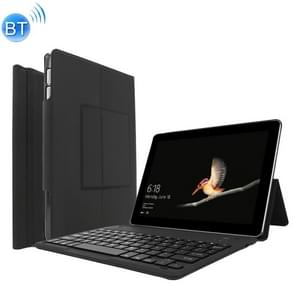 SG01 Detachable Plastic Bluetooth Keyboard Protective Case for Microsoft Surface Go 10 inch, with Holder(Black)