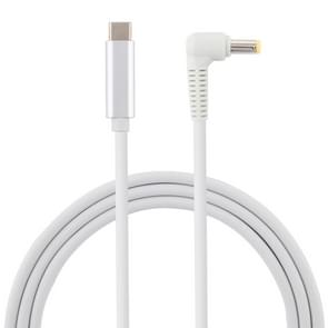 USB-C / Type-C to 5.5 x 2.5mm Laptop Power Charging Cable, Cable Length: about 1.5m