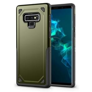 Shockproof Rugged Armor Protective Case for Galaxy Note 9 (Army Green)