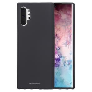 MERCURY GOOSPERY SF JELLY TPU Shockproof and Scratch Case for Galaxy Note 10+(Black)