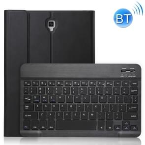 Ultra-thin Detachable Bluetooth Keyboard Leather Case for Galaxy Tab A 10.5 T590 / T595, with Holder (Black)