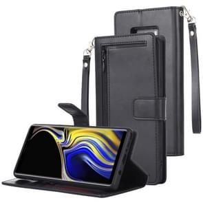 MERCURY GOOSPERY DETACHABLE DIARY Horizontal Flip Leather Case with Holder & Card Slots & Zipper & Wallet for Galaxy Note 9 (Black)