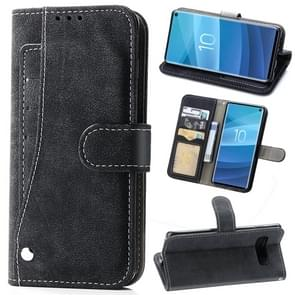 Frosted 360 Degree Rotating Case with Holder & Card Slot for Galaxy S10 (Black)