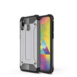 Magic Armor TPU + PC Combination Case for Galaxy M20 (Grey)