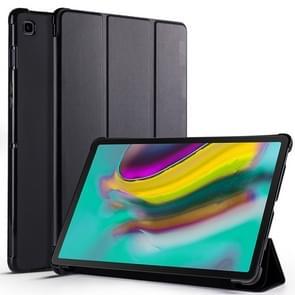 Koeienhuid textuur horizontale Flip lederen case voor Galaxy tab S5E 10 5 T720/T725  met houder (zwart)