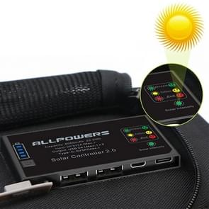 ALLPOWERS Solar Charger 5V 21W Built-in 6000mAh Battery Portable Solar Cells