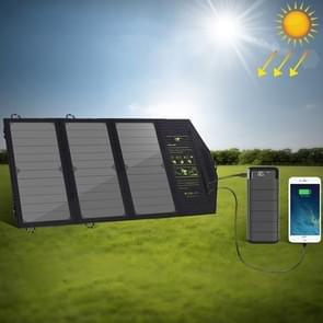 ALLPOWERS 5V 21W draagbare telefoon oplader Solar Charge Dual USB-uitgang mobiele telefoon oplader