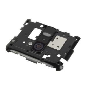 Back Plate Housing Camera Lens Panel for LG G2 / D802 / D800(Black)