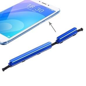 Zijkleutels voor Meizu M6 Note (blauw)