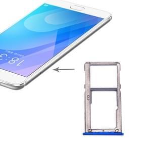 SIMKAARTHOUDER voor Meizu M6 Note (blauw)