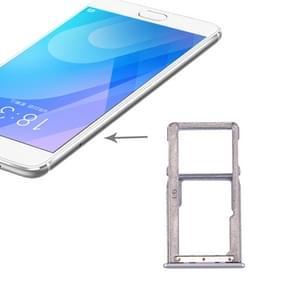 SIM Card Tray for Meizu M6 Note(Silver)