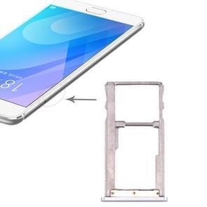 SIM Card Tray for Meizu Meilan E2(Silver)