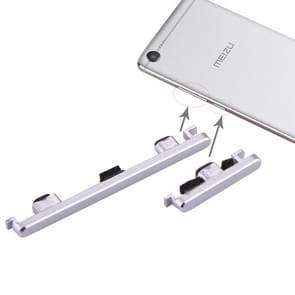 Zijkleutels voor Meizu Meilan E2 (zilver)