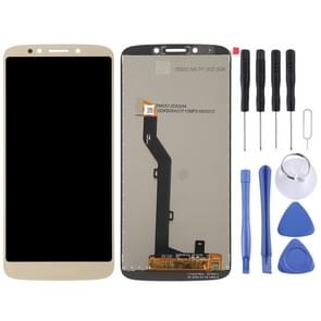 LCD Screen and Digitizer Full Assembly for Motorola Moto E5(Gold)