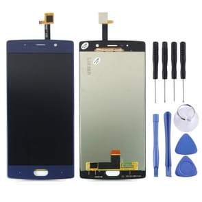 LCD Screen and Digitizer Full Assembly for Doogee BL7000(Blue)