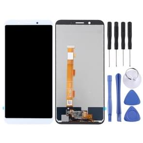 LCD Screen and Digitizer Full Assembly for OPPO A83(White)