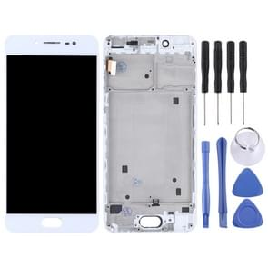 TFT Materials LCD Screen and Digitizer Full Assembly with Frame for Vivo X7(White)