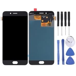 LCD Screen and Digitizer Full Assembly for OPPO R9s(Black)