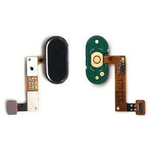 Home knop / Fingerprint Sensor knop voor Meizu M5 Note(Black)