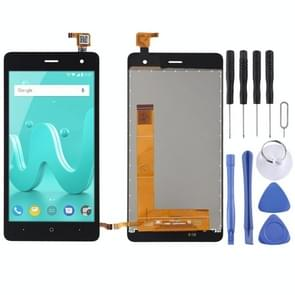 LCD Screen and Digitizer Full Assembly for Wiko Jerry 2(Black)