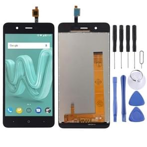 LCD Screen and Digitizer Full Assembly for Wiko Kenny(Black)