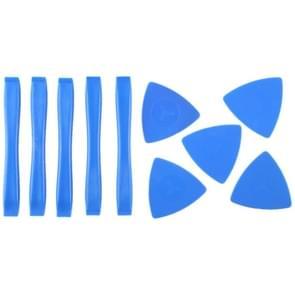 5 stuks kunststof demonteren Spudgers + 5 stuks kunststof driehoek nieuwsgierige Tool