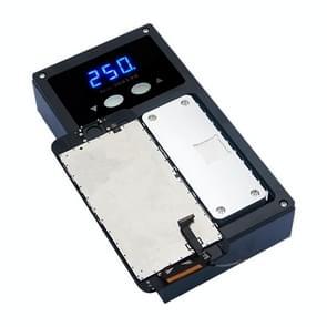 K-302 Mobile Phone LCD Frame Bracket Remover Dismantle Machine Heating Platform, Upgrade Version, Input: 220V AC 100W, AU Plug