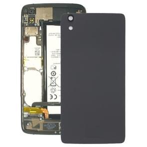 Achterste schutblad met cameralens voor Blackberry DTEK50(Black)