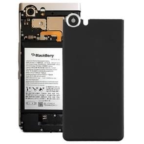 Achterste schutblad met cameralens voor Blackberry Keyone(Black)