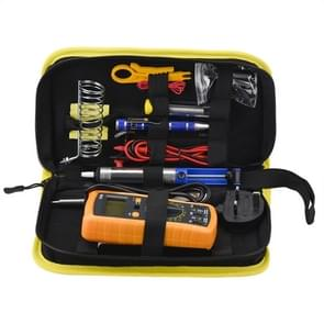 15 in 1 50Hz 60W Electric Iron Set Kit with Multimeter, Random Color Delivery